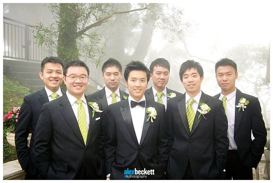 24 Groomsment on the Peak Hong Kong