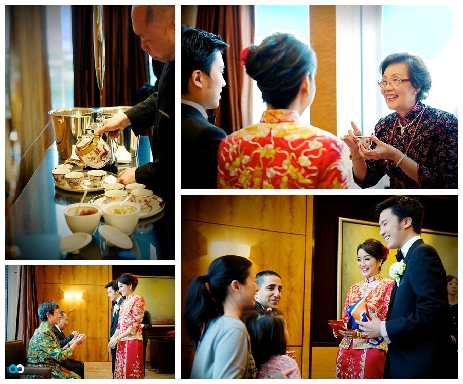 52 Chinese wedding tea pouring at the Four Seasons Hong Kong