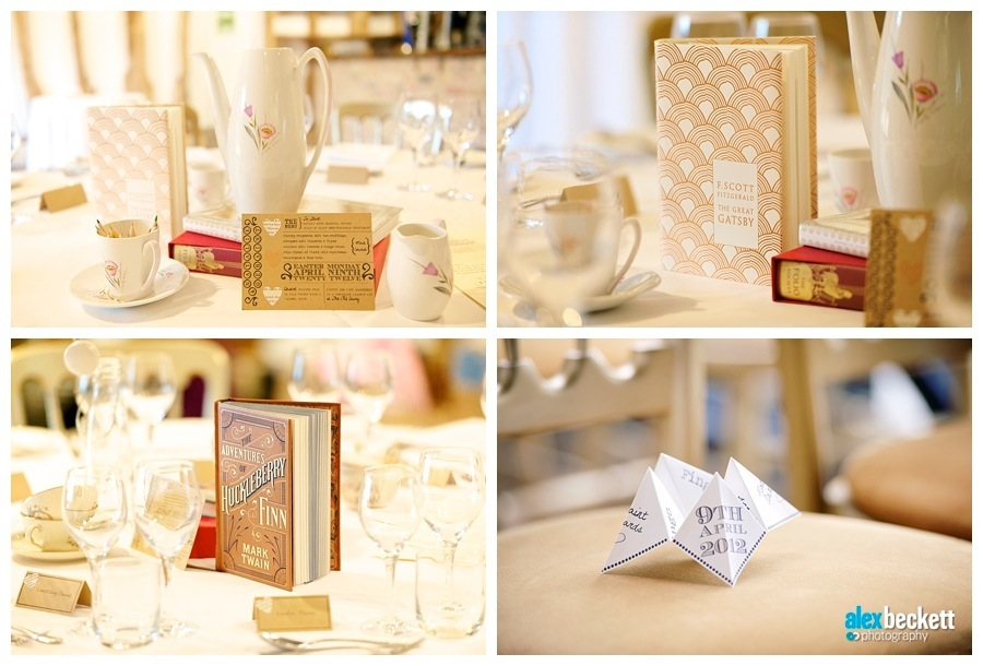 35 Wedding Book table centers names