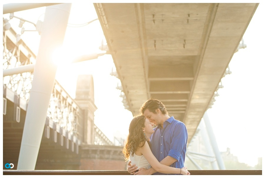 1 South bank London engagement wedding