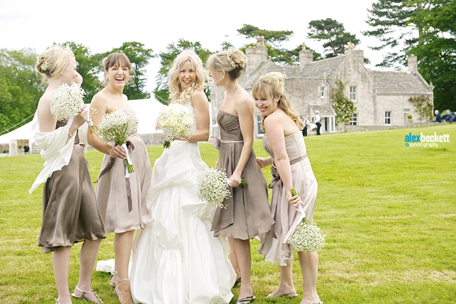 33 bridesmaids at harry warren house dorset