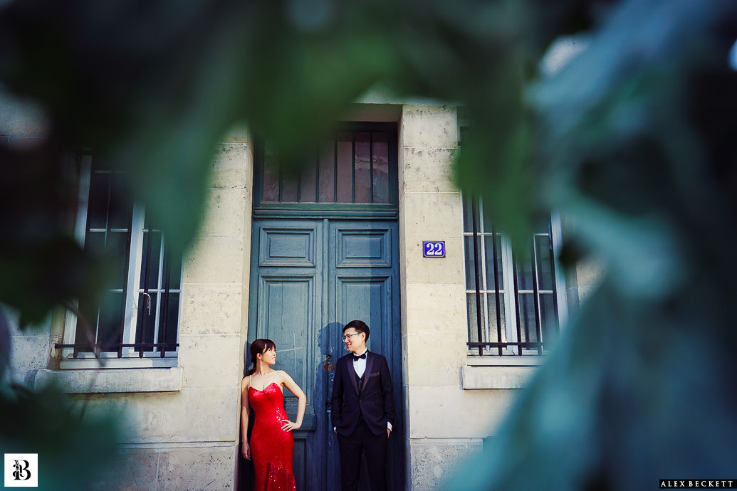 Paris pre-wedding by Alex Beckett