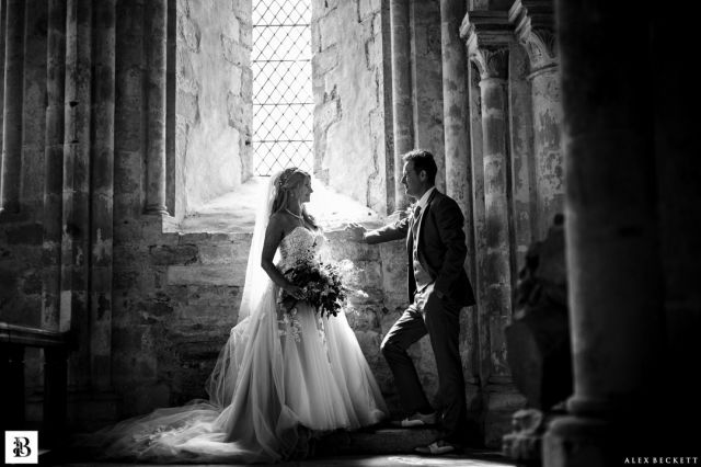 More from this recent favourite. Maddy and Stuart are from an arts and music background so their wedding was always going to be magical! And the beauty of Dore Abbey blew me away. @madeleine_jones1 @cult-nature @sjcartersmith   #herefordwedding #englishwedding #doreabbeywedding #sonya9 #weddingportrait #blackandwhiteportrait #brideandgroom #doreabbey