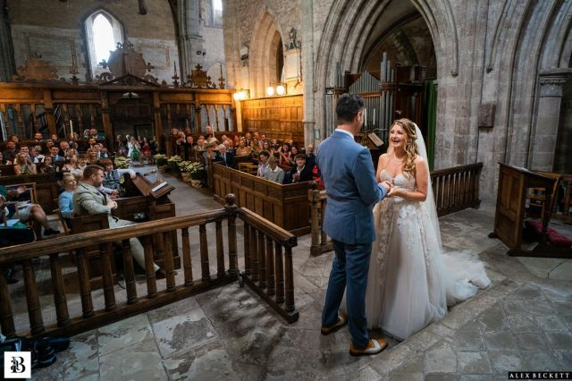 Just a simple moment of emotion against the ancient architecture of Dore Abbey. Rev. Mark and the team here are absolutely ace – can't thank them enough. @madeleine_jones1 @cult-nature @sjcartersmith   #herefordwedding #englishwedding #doreabbeywedding #sonya9 #churchweddingphotography #capturethemoment #coupletakingvows #dore #doreabbey